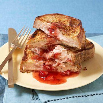 Healthy Breakfast Recipe Stuffed French Toast Fitness