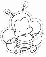 Bubble Bee Bees sketch template