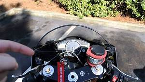 Yamaha R6 Mirror Modification