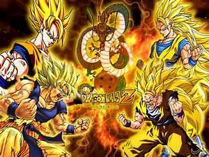 Dragon Ball Z Anime Son Goku All Evolution Super Seiya ...