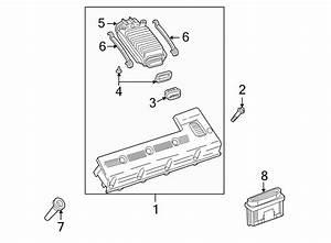 Buick Rainier Engine Control Module  Liter  Models