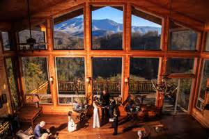 inexpensive wedding reception venues gatlinburg weddings cabin wedding ceremonies in