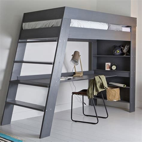 bunk loft with desk ultra stylish and contemporary the julien kids loft bed