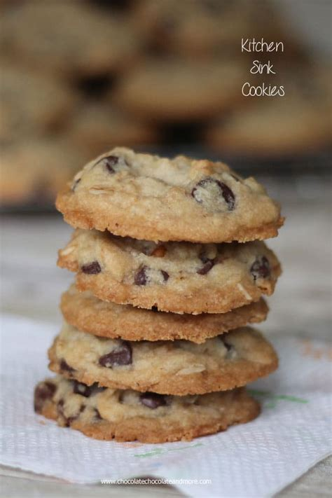 kitchen sink cookies recipe kitchen sink cookies chocolate chocolate and more 5686