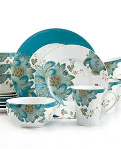 target wedding registry 222 fifth eliza teal 16 pc set service for 4 dinnerware dining entertaining macy 39 s