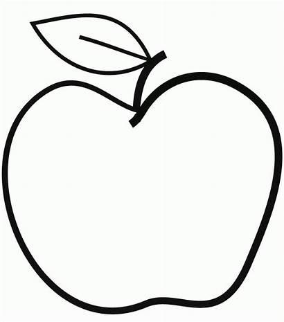 Apfel Ausdrucken Zum Ausschneiden Schablonen Ausmalbilder Basteln