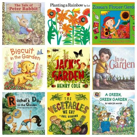 cool garden books for toddlers and preschoolers to enjoy 974 | Garden Books 1200x1200 600x600