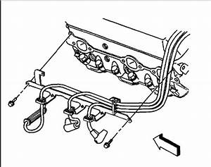 Spark Plug Wiring Diagram  Six Cylinder Two Wheel Drive Automatic