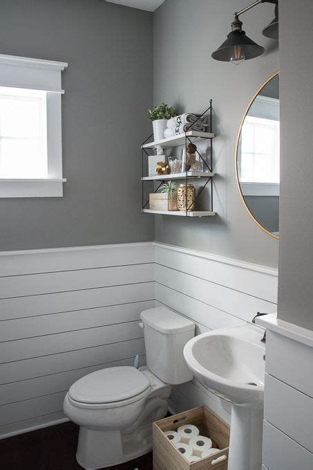 check   beautiful powder room reveal  tiny