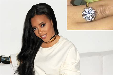 Angela Simmons Is Engaged