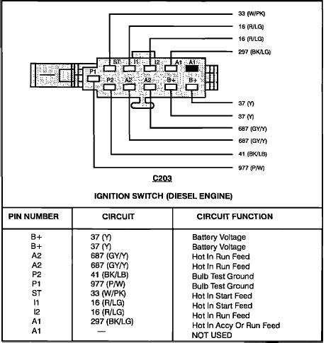 wiring diagram      diesel starter solinoid
