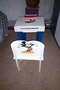 bureau bois et m騁al vente objets et jouets en bois