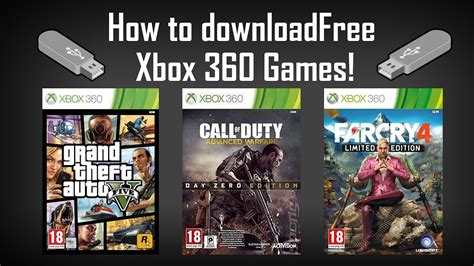 m xbox 360 games how to xbox 360 for free on usb and play