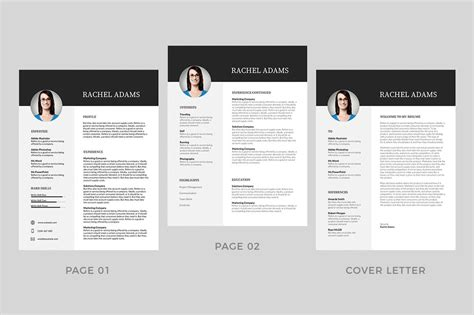 Free Modern Resume Templates For Word by 20 Best Modern Resume Templates Word 2019