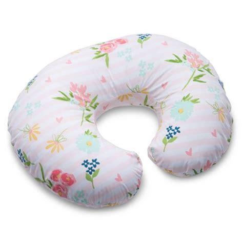 boppy 174 floral stripe nursing pillow and positioner pink