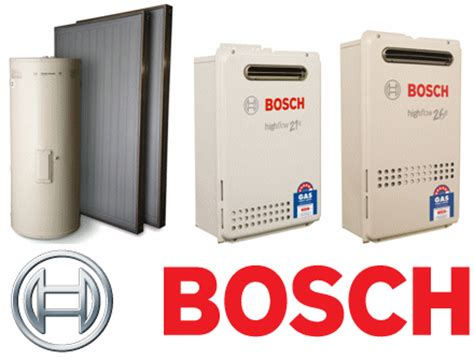 bosch solar water systems information and specifications