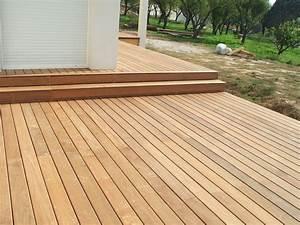 Terrasse En Ipe : terrasse sur lev e en ip roquevaire pour une maison d ~ Premium-room.com Idées de Décoration
