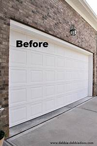 Carriage style garage door debbiedoos for Carriage style garage doors kit