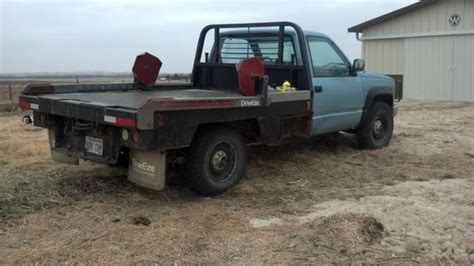 deweze bale bed for sale 1990 gmc 2500 w 275 deweze bale bed nex tech classifieds