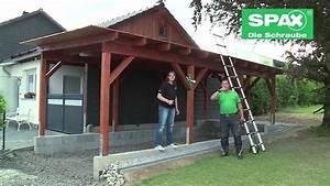 Construire Un Carport : construire un carport youtube ~ Premium-room.com Idées de Décoration