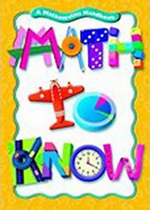 Great Source Math To Know Ser   Great Source Math To Know