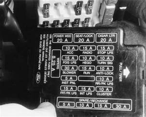 Solved  93 Ford Thunderbird Fuse Box Diagram