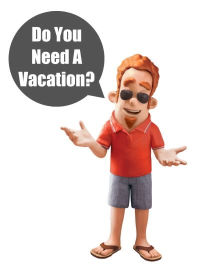 Do You Need A Vacation?  Stress Relief Pinterest
