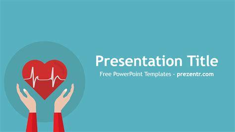 heart rhythm powerpoint template prezentr