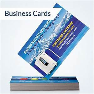 Enagic distributor promotional supplies for Kangen business cards