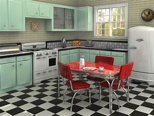 beautiful meuble cuisine vintage annee 50 gallery With cuisine vintage annees 50