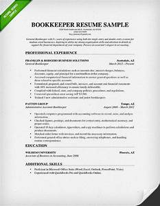 bookkeeper resume sample projects to try pinterest With bookkeeper resume examples