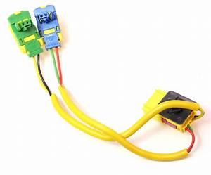 Rh Dash Air Bag Plugs Wiring Harness 05