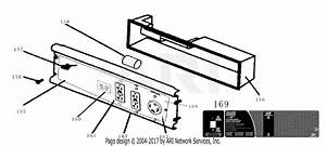 Homelite Hg6000 Generator Parts Diagram For Control Panel