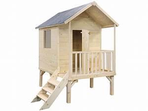 Cabane Pour Chat Exterieur Pas Cher : cabane enfant bois pas cher abri kangourou jardipolys ~ Farleysfitness.com Idées de Décoration