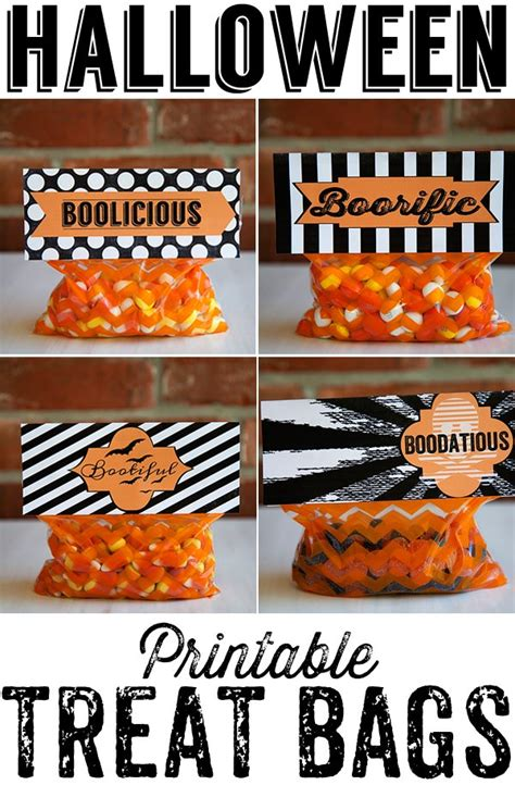 creative halloween treat bags neafamilycom