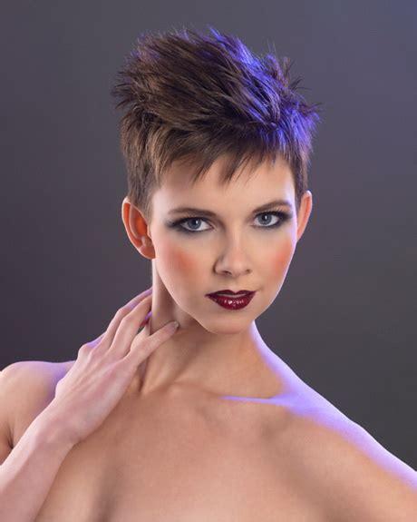 super short hairstyles women