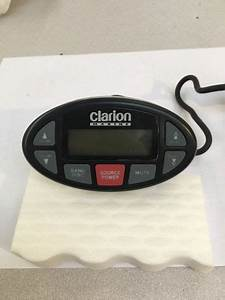 Sell Clarion Marine Boat Stereo Remote Control Panel M301rc Motorcycle In Petaluma  California