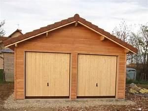 Garage Ossature Bois : garage en ossature bois espace bois france ~ Melissatoandfro.com Idées de Décoration