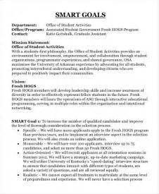 smart objectives for administrative assistant exles 11 smart goals exles free premium templates