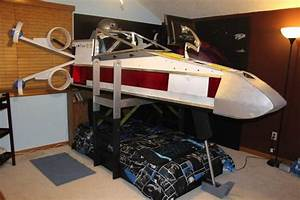 STAR WARS Inspired X-Wing Bed! — GeekTyrant