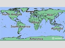 Where is Norway? Where is Norway Located in The World