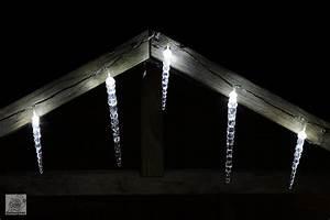 Eiszapfen Lichterkette Außen : led eiszapfen lichterkette deko f r au en ~ Watch28wear.com Haus und Dekorationen