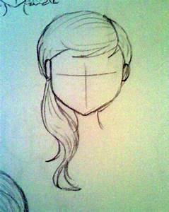 Hairstyles : Wavy Side Ponytail by bexxasaurus on DeviantArt