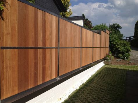 Basement Garage Door by Fence Contemporary Other Metro By Hoge Die Manufaktur