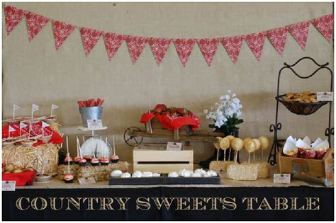 Country Baby Shower Pizzazzerie
