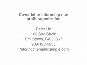 Download accounting for non profit organisation pdf free for Cover letter for internship in software company