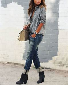 How to Wear Ankle Boots with Jeans - PureWow