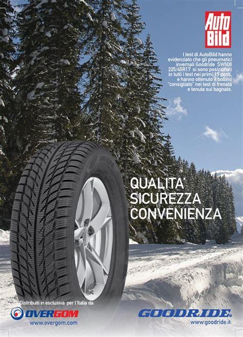 goodride sw608 test gli invernali goodride distribuiti da overgom promossi dai test di autobild pneusnews it