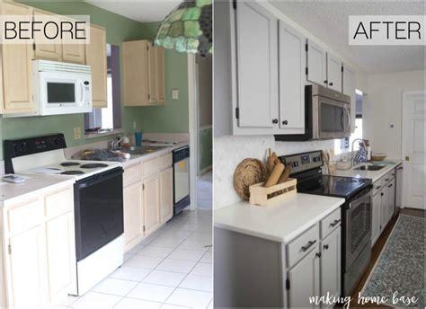 kitchen countertops and backsplash gray and white kitchen makeover home base
