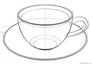 How to Draw Coffee Cup Drawing